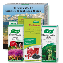 A. Vogel 15-Day Cleanse Kit | (Boldocynara 50 ml, Molkosan Berry 200 ml, Stinging Nettlee 50 ml)