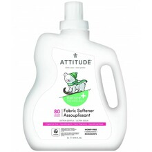 Attitude Little Ones Nature+ Fabric Softer - Fragrance Free 80 Loads | 626232121834