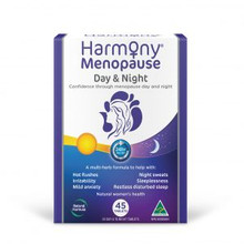 Martin and Pleasance Harmony Menopause Day & Night 45 Tablets | 9321582002895