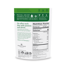 Navitas Organics Organic Matcha Powder 85 Grams | Nutrition Facts