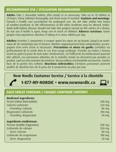 New Nordic Frutin Gastro Gel - 48 Chewable Tablets  