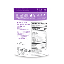 Navitas Organics Organic Acai Powder 113 Grams | Nutrition Facts