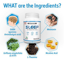 SD Pharmaceuticals Sleep Support 90 Capsules | 656727772012
