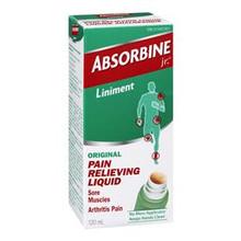 Absorbine Jr. Original Pain Relieving Liquid 120 mL | 889476646826