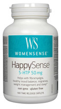 WomenSense HappySense 5-HTP 50 mg  120 Time Release Caplets | 628826001911 | 80095839
