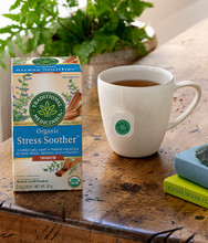 Traditional Medicinals Organic Stress Soother Cinnamon - 20 Wrapped Tea Bags | 822365 , 032917102089
