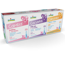 Boiron Baby Box ( Camila 30 Doses + Cocyntal 30 Doses + Coryzalia 30 Doses) | 774016854826