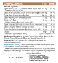 Progressive Mushroom Complex  90 Veg Caps | 837229009671 |  Ingredients