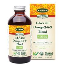 Flora Health Udo's Choice Udo's Oil Omega 3+6+9 Blend +DHA 250ml | 061998079973