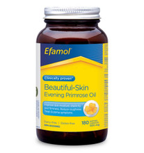 Flora Health Efamol Beautiful-Skin Evening Primrose Oil 500mg 180  Softgel Capsules | 061998084427