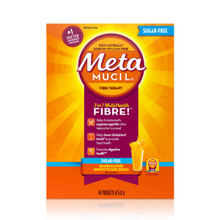 Metamucil 3 in 1 Multihealth Fibre Orange Flavour Smooth Texture Powder - 44 Packets of 5.8 grams | 056100046554