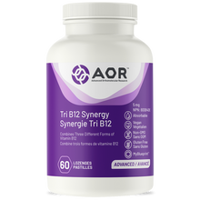 AOR Tri B12 Synergy 5mg 60 Lozenges | 624917044126