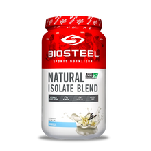 BioSteel Natural Isolate Blend Protein Powder Vanilla 700g | 883309176306