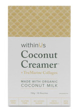 withinUs Coconut Creamer + TruMarine Collagen Box 10 x 11g Pouches | 628504021064
