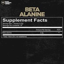 Redcon1 Basic Training Series Beta Alanine 96g | Supplements Facts