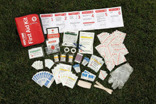Easy Care First Aid All Purpose First Aid Kit |  Content Inside Kit Image