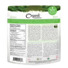 Organic Traditions Super 5 Grass Juice Blend 150g | 627733012607
