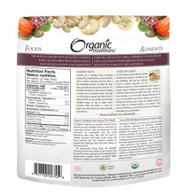 Organic Traditions Cashew Nuts 227 grams | 627733007559