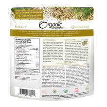 Organic Traditions Sprouted Quinoa 340 grams   627733016513