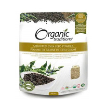 Organic Traditions Sprouted Chia Seed Powder 454g | 627733005463
