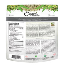 Organic Traditions Hemp Hearts 227 grams | 627733005548