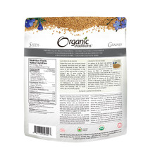Organic Traditions Golden Flax Seeds 454 grams   627733005517