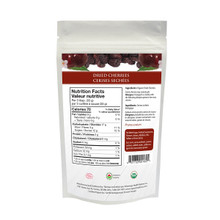 Organic Traditions Dried Cherries 100 grams | 627733001601