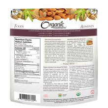 Organic Traditions Raw Shelled Almonds 227g | 627733007221