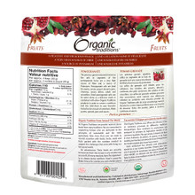 Organic Traditions Dried Pomegranates 100g | 627733004251