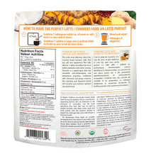 Organic Traditions Turmeric Latte with Probiotics 150g | 627733001342