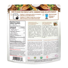 Organic Traditions Chocolate Latte with Ashwagandha and Probiotics 150g | 627733001380