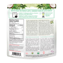 Organic Traditions Yerba Mate Mint Latte with Matcha and Probiotics 150g | 627733001434