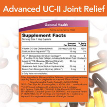 Now Foods Advanced UC-II Joint Relief 60 Veg Capsules | 733739831378