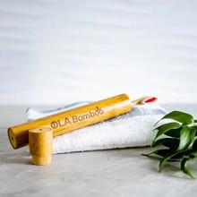 OLA Bamboo Toothbrush Travel Case | 628110814012