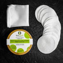 OLA Bamboo Start Kit Makeup Remover Pads - 16 pads | 627843802433