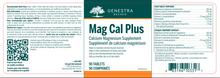 Genestra Mag Cal Plus 90 Tablets | 883196103317 | Label image