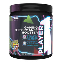 Rule One Proteins Player1 - Gaming Performance Booster - Rainbow Respawn 220 g (40 Servings) | 837234109564