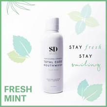 Spa Dent Naturals Total Care Mouthwash Fresh Mint 600ml |