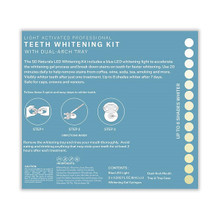 Spa Dent Naturals Light Activated Professional Teeth Whitening Kit - 2 Syringe Kit (12 ml) | Directions