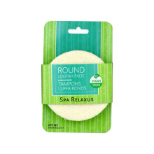 Relaxus SpaRelaxus Round Loofah Pads - 4 Pack | 506341