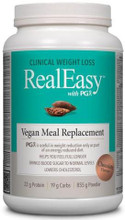 Natural Factors RealEasy with PGX Vegan Meal Replacement Chocolate | 62776503609