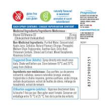 Progressive Vitamin D3 Spray - Natural Orange 58 ml - Nutritional Information | 837229009251