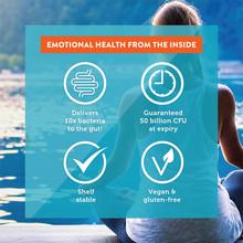 Genuine Health Advanced Gut Health Probiotic Mood 30 Vegan Capsules | 624777010989