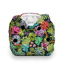 Thirsties Natural Newborn All In One Snap Diaper - Desert Bloom | 840015713058