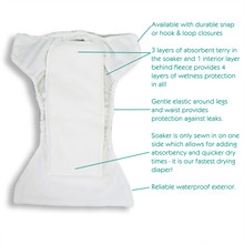 Thirsties One Size All In One Snap Diaper - Desert Bloom | 840015713102