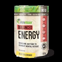 Iron Vegan Balanced Energy Iced Tea Lemonade 150g | 837229009800