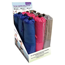 Relaxus Quick Dry Sports Towel (Assorted Colours) | 628949005414