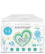 Attitude Biodegradable Baby Diapers - 3-6 kg | 626232162202