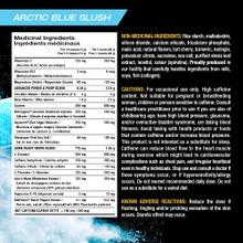 PVL DOMIN8 Arctic Blue Slush 520g - Ingredients|627933606514