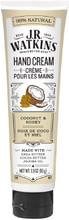 J.R. Watkins Hand Cream - Coconut & Honey | 813724020427